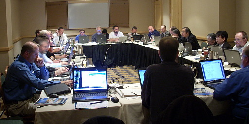 SSPC 135 at the 2008 Committee Meeting in New York City