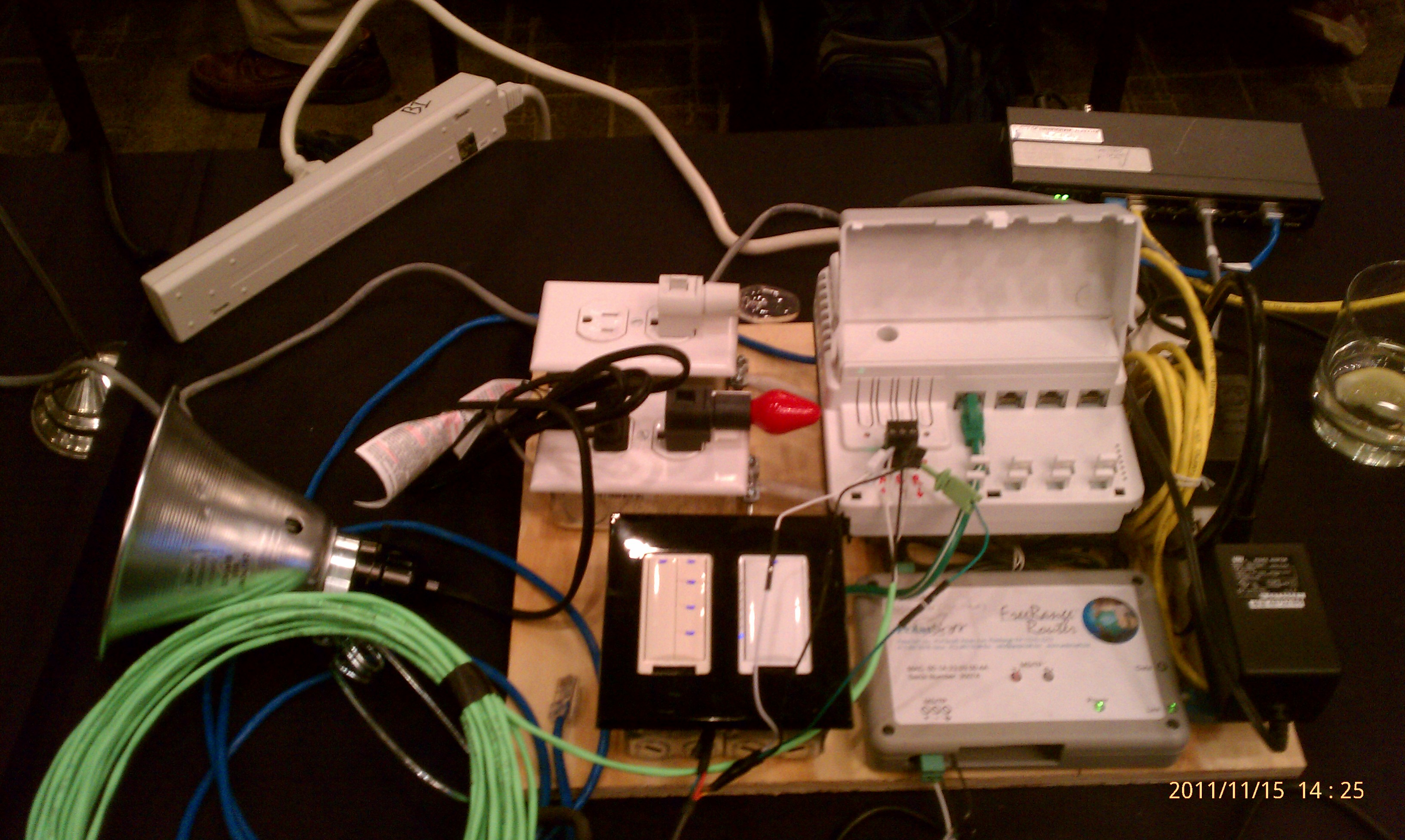 Steves Software Trek Open Source Haven Bacnet Wiring I Brought A Wattstopper Dlm Setup For The International Plugfest Held At Westin Hotel In Atlanta Its Always Fun To Have Bright Lights